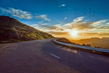 road trip en montagne