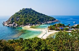 Koh Nang Yuan- Thailande
