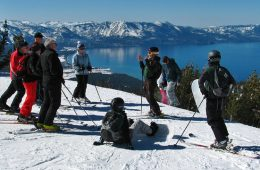 Ski with a Ranger group