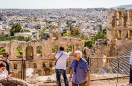 Acropole à Athènes