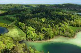 Route des lacs jura